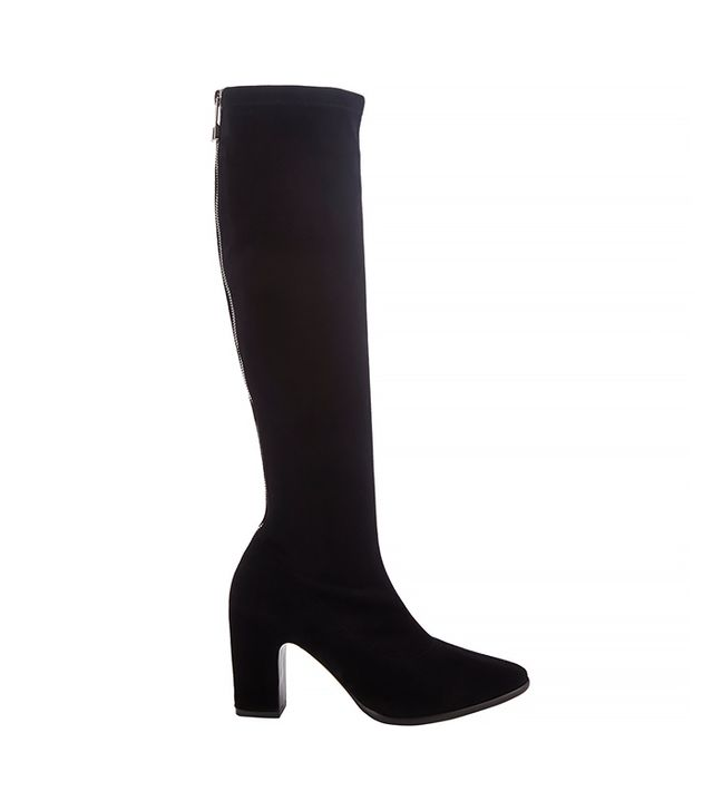 Balenciaga Zip-Detail Knee Boots