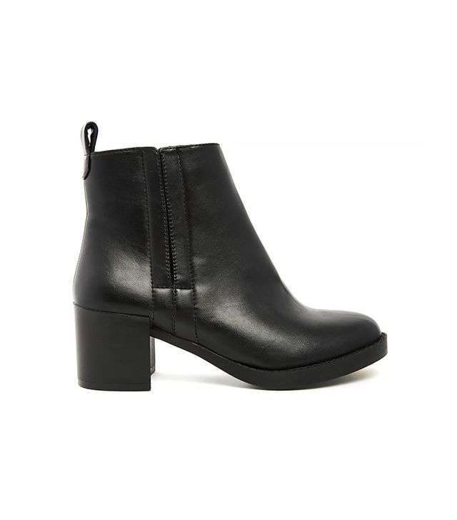 New Look Deal Cupped Heel Chelsea Boots