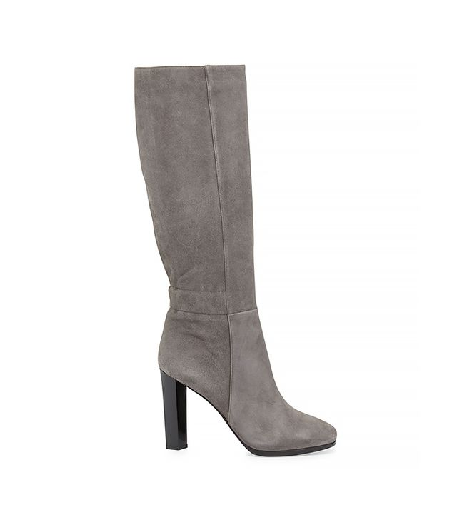 Diane Von Furstenberg Pagri Suede Over-the-Knee Boot