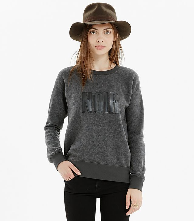 Madewell Noir Sweatshirt
