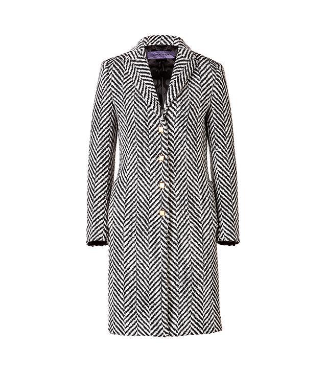 Emanuel Ungaro Wool Chevron Coat