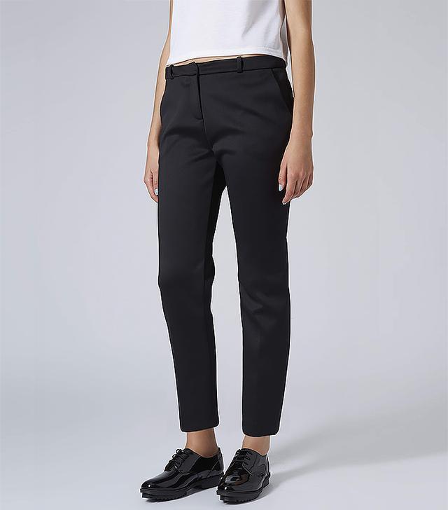 Topshop Clean Scuba Trousers