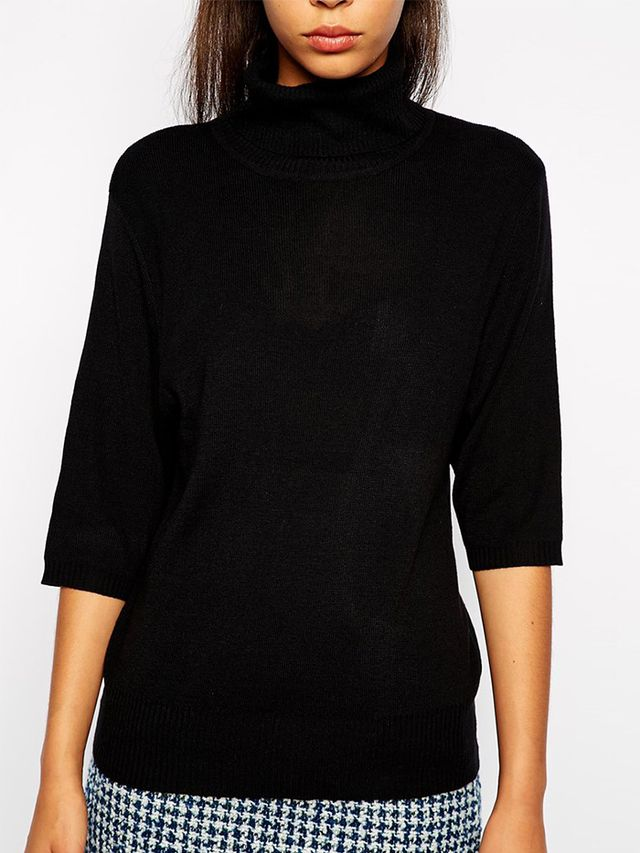 Pop Boutique Turtleneck Top in Fine Knit