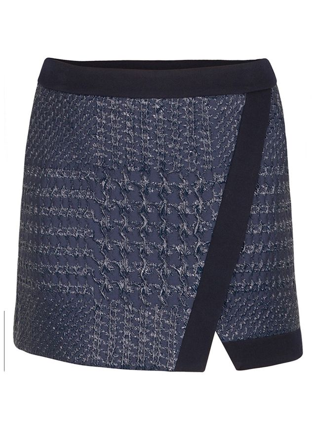 ICB Lame Houndstooth Skirt