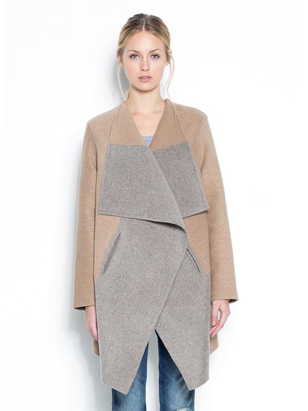 Closed Cashmere Colour Block Coat