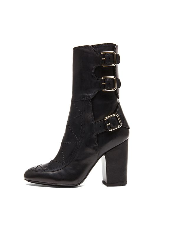 Laurence Dacade Merli Calfskin Leather Boots