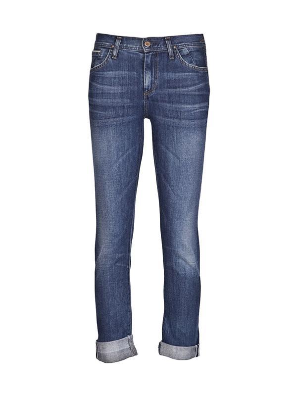 Goldsign Jenny High Rise Slim Leg Jeans