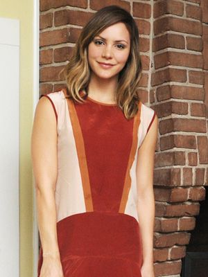 Katharine McPhee's Flirty Colorblock Dress is on Sale!