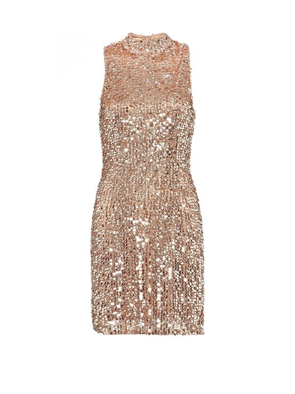 French Connection Moonbeamer Sequinned Dress