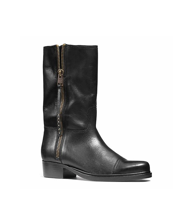 Coach Short Double Zip Western Boots
