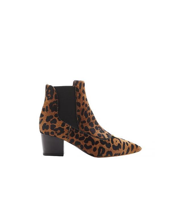Tabitha Simmons Shadow Printed Calf-Hair Boots