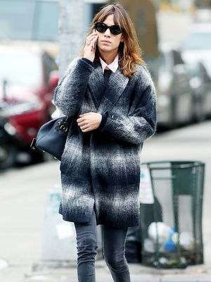 Alexa Chung's Guide to Wearing a Fall Coat