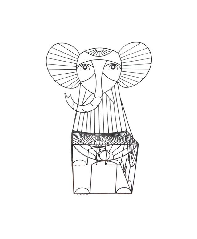 Nickey Kehoe Rare John Risley Figural Elephant Chair