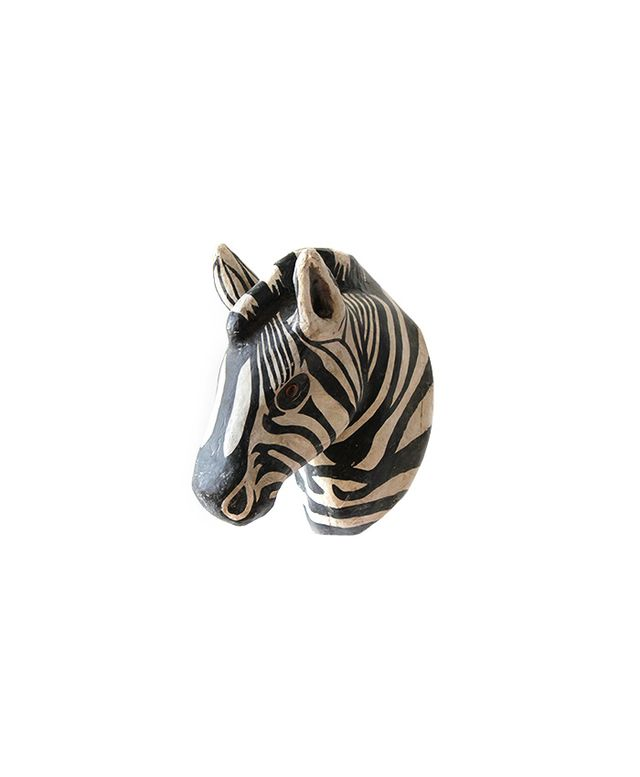 Nickey Kehoe Paper Taxidermy Zebra