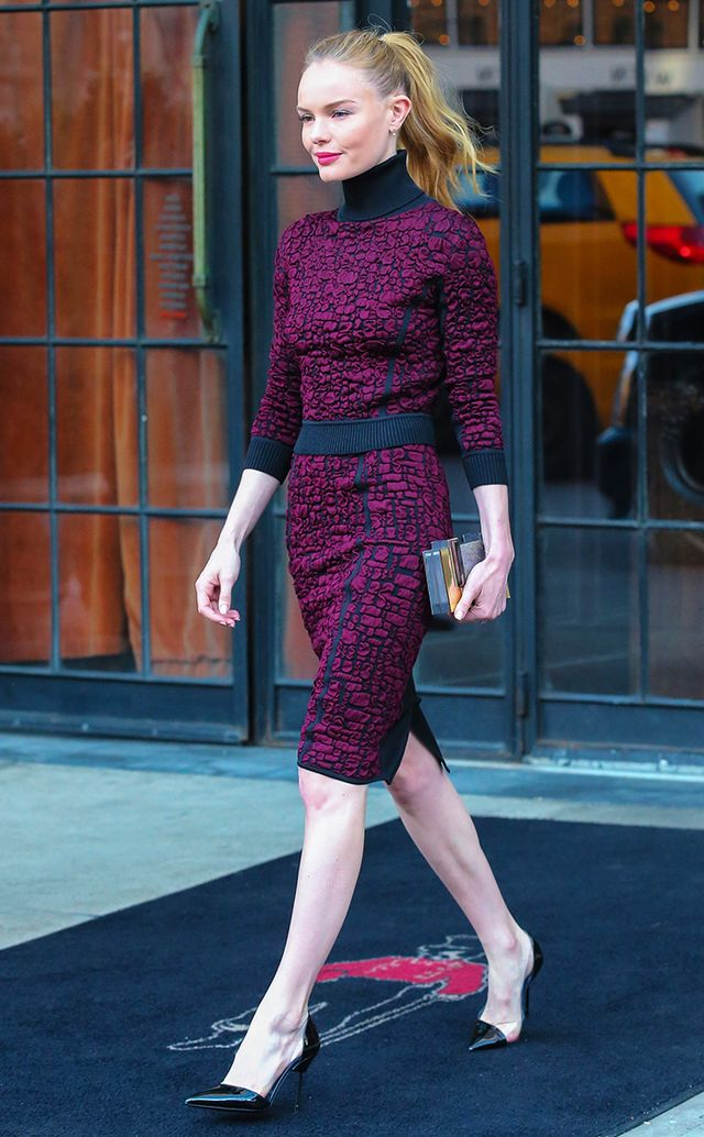 Bosworth is one of the most sartorially savvy celebrities we know, but she especially excels when it comes to wearing feminine pieces in a fashion-forward way.
