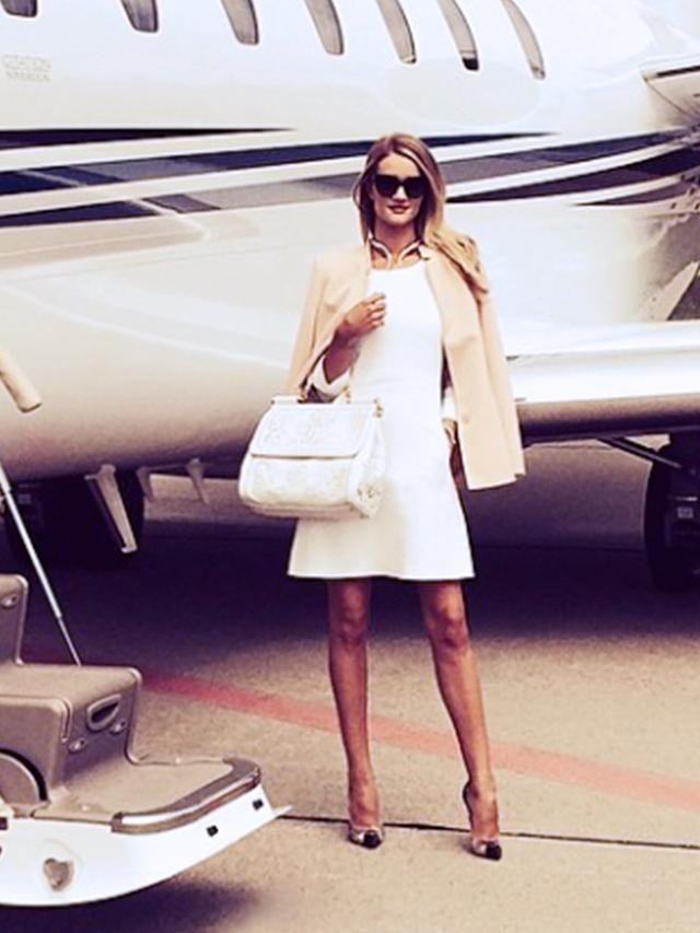 Exclusive: Rosie Huntington-Whiteley Shares Her Airport Checklist
