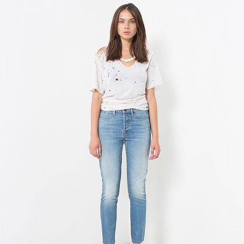 Lola High-Rise Ankle Slim Jeans