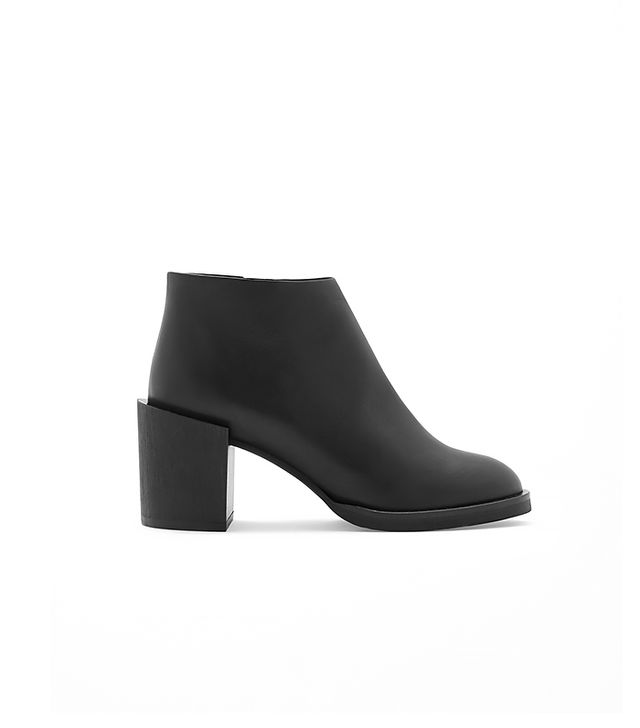 Cos Block-Heel Leather Boots
