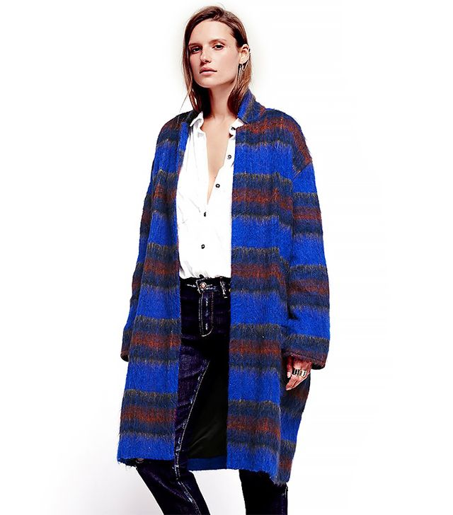 Free People Long and Lean Overcoat