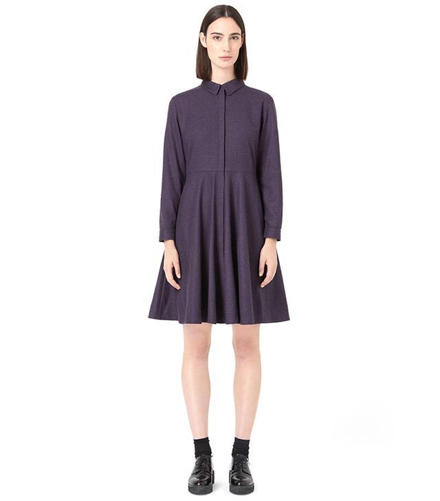 Cos Checked Shirt Dress