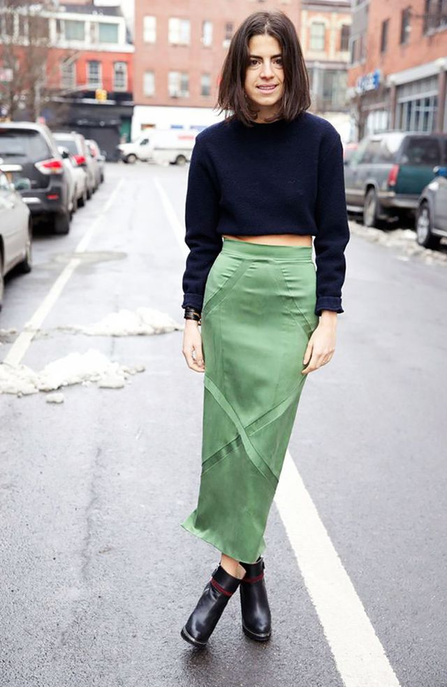 15 Cool Ways to Wear a Cropped Sweater | WhoWhatWear AU