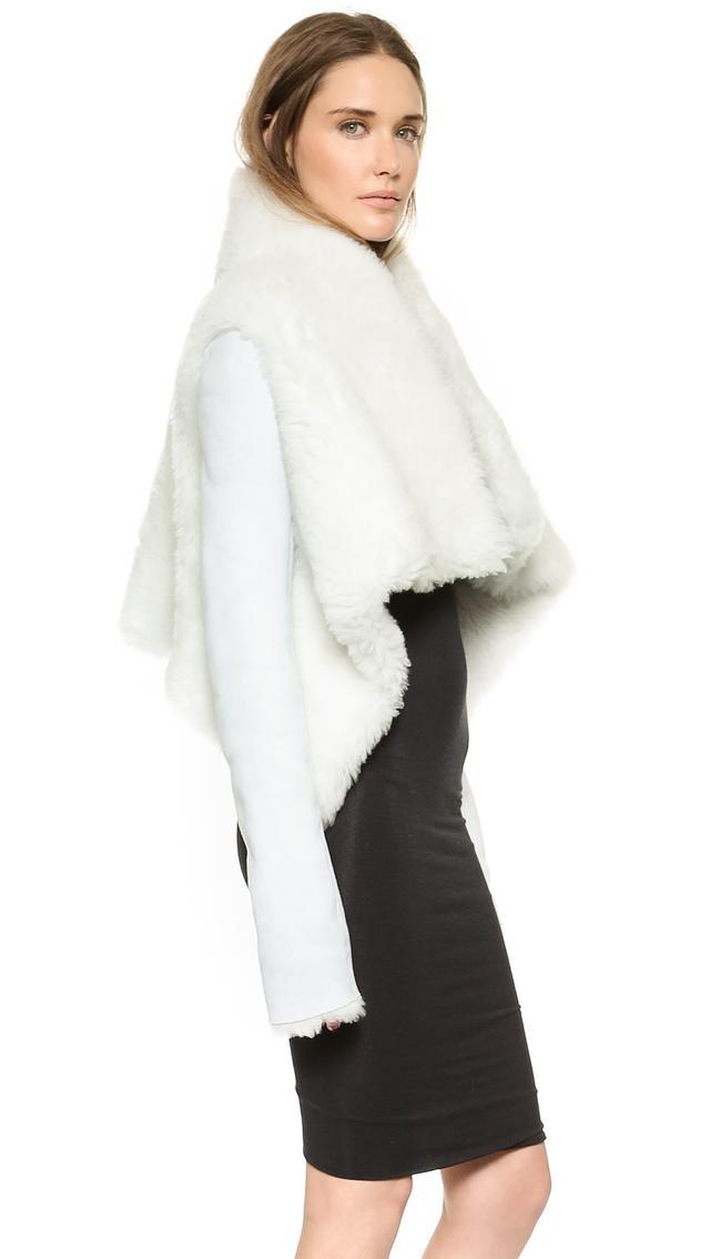 Gareth Pugh Shearling Coat
