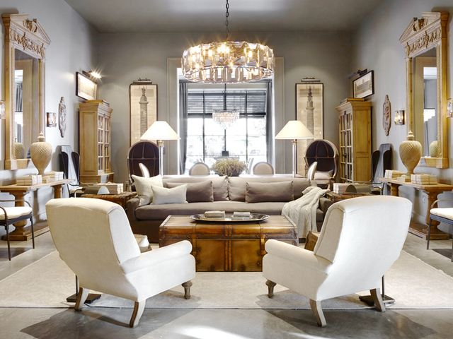 Tour The Grandest And Newest Restoration Hardware Mydomaine