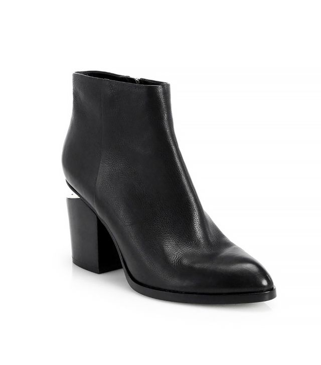 Alexander Wang Notched Heel Gabi Ankle Boot