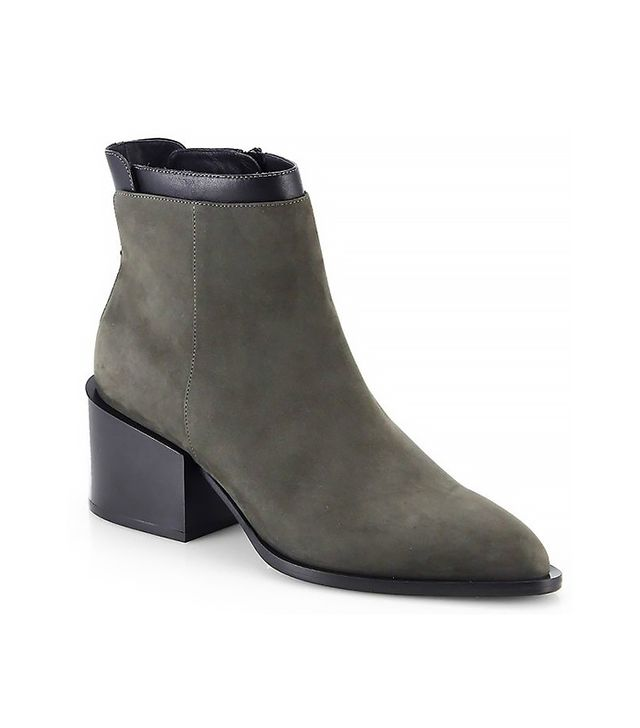 Vince Laura Suede & Leather Ankle Boot