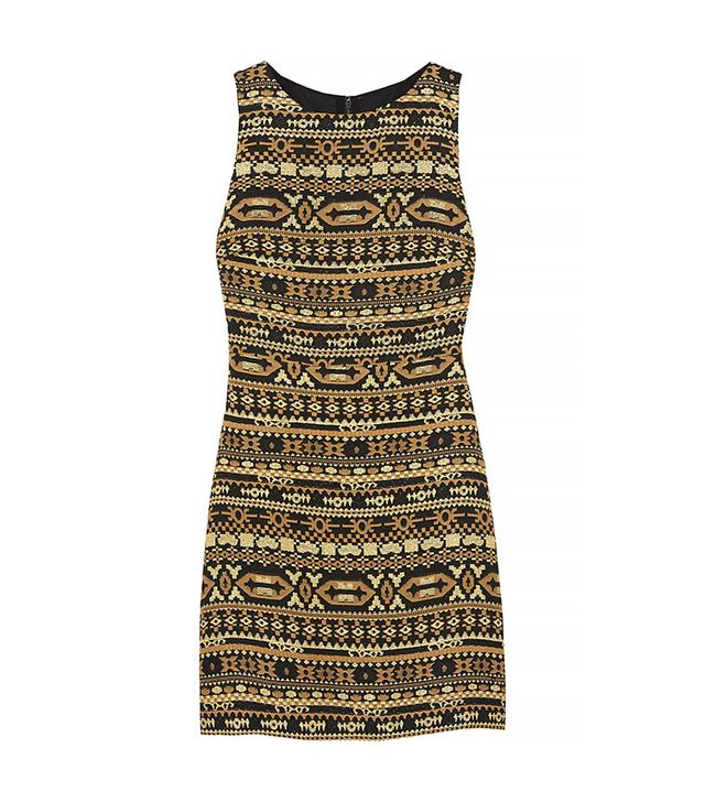 Alice + Olivia Wilcox Embroidered Dress