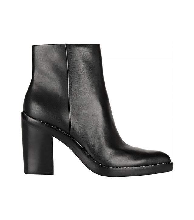 Alexander Wang Kelli Leather Ankle Boot