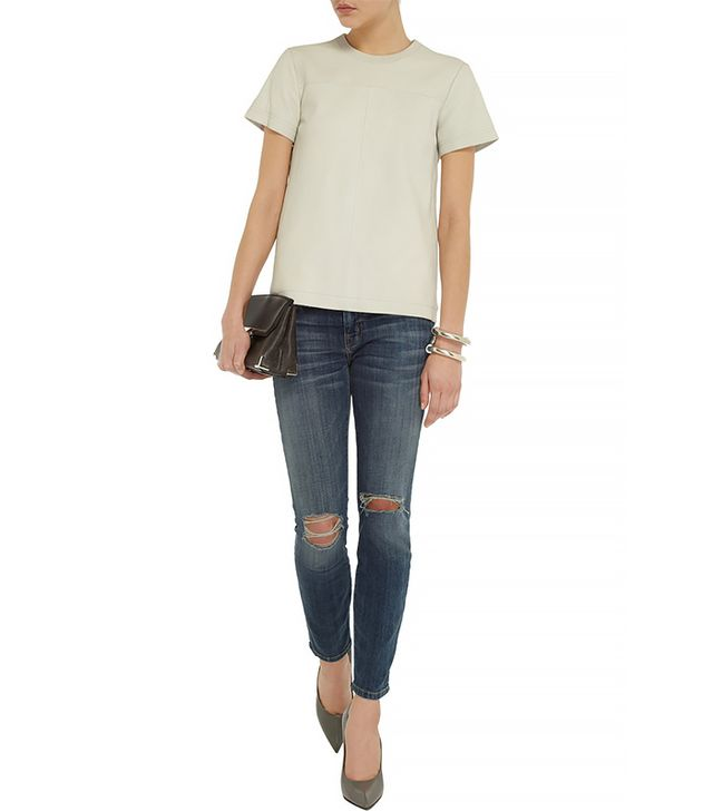 Current/Elliot Stiletto Low-Rise Skinny Jean