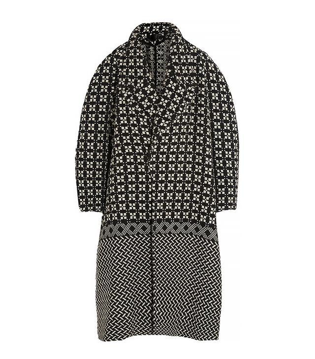 Haider Ackermann Oversized Wool-Blend Tweed Coat