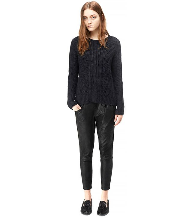 Helmut Lang Shifting Knit Pullover