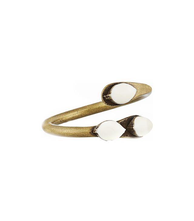 Isabel Marant Watergate Brass Resin Ring