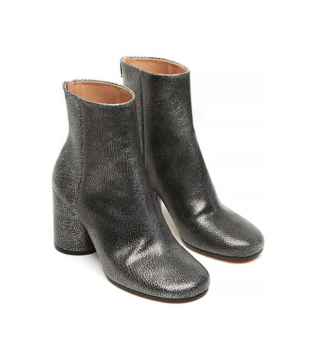 Maison Martin Margiela Metallic Ankle Boot