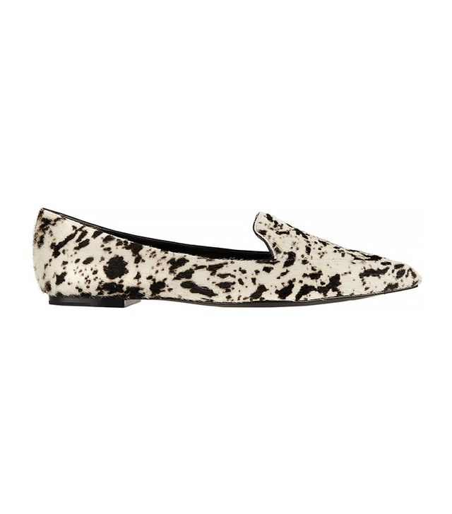 3.1 Phillip Lim Paige Printed Calf Hair Loafers