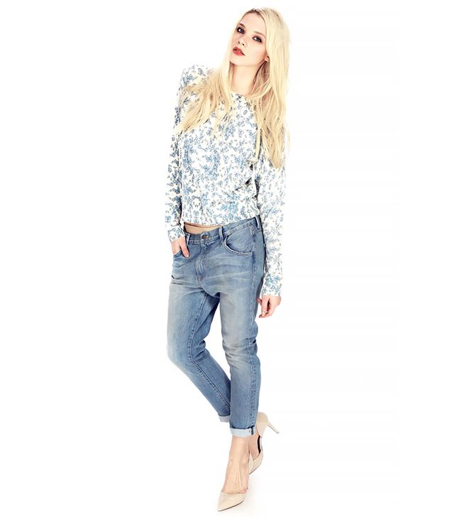 Wildfox Marissa Boyfriend Jeans in Poetry