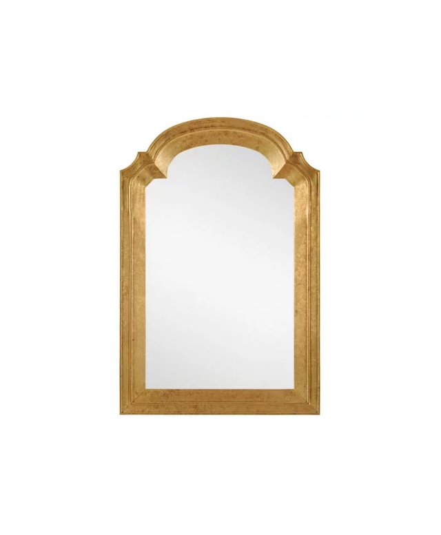 One Kings Lane Gold Queen Anne Wall Mirror