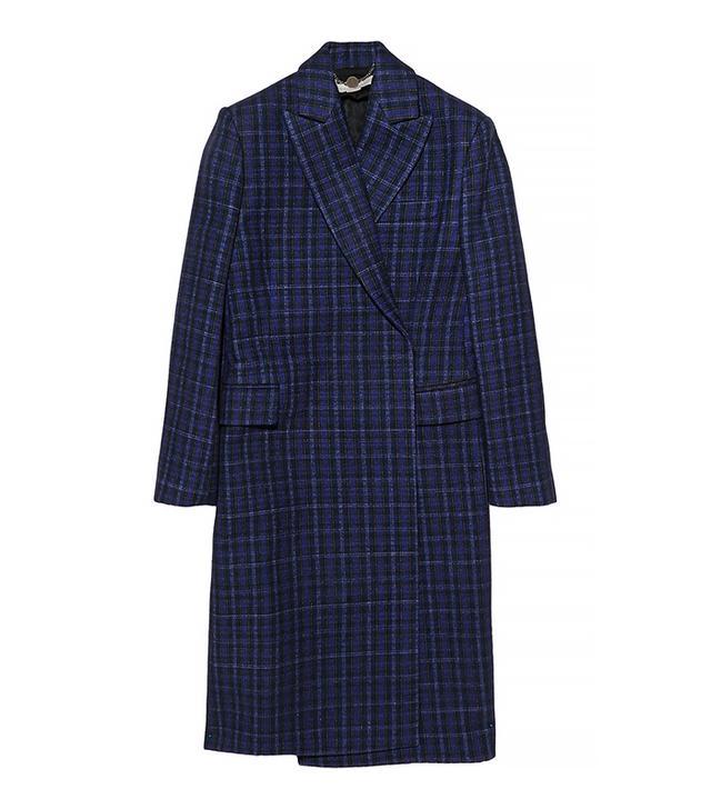Stella McCartney Jacky Plaid Coat
