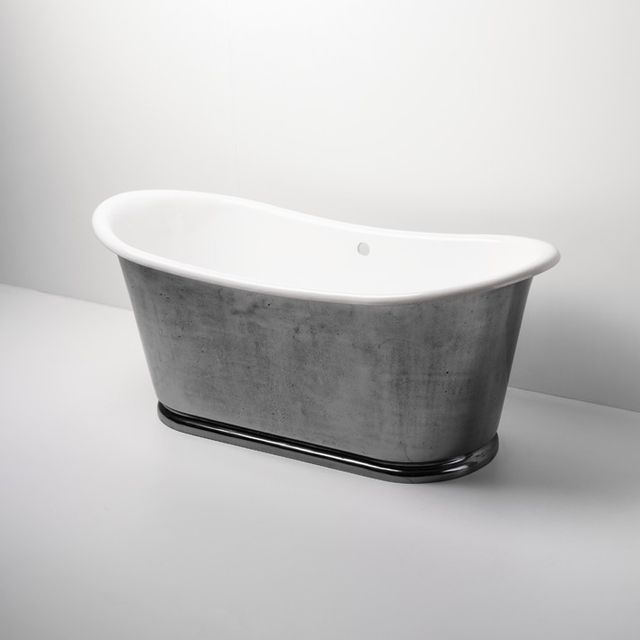 Waterworks Candide Freestanding Oval Cast Iron Bathtub