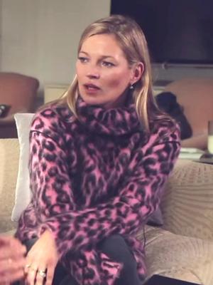 Get a Peek Into Kate Moss' Living Room