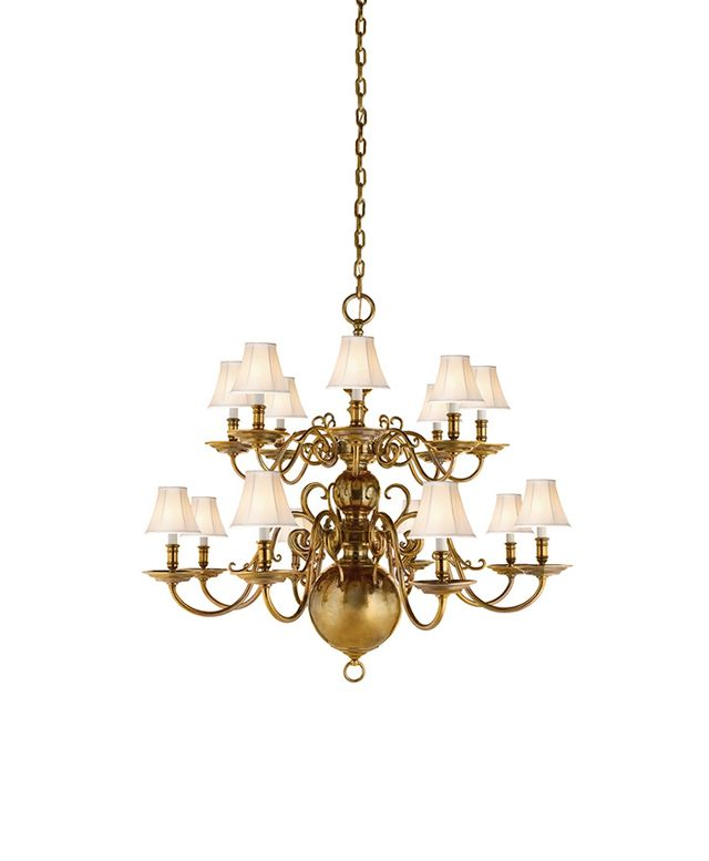 Ralph Lauren Lillianne Double Tiered Chandelier