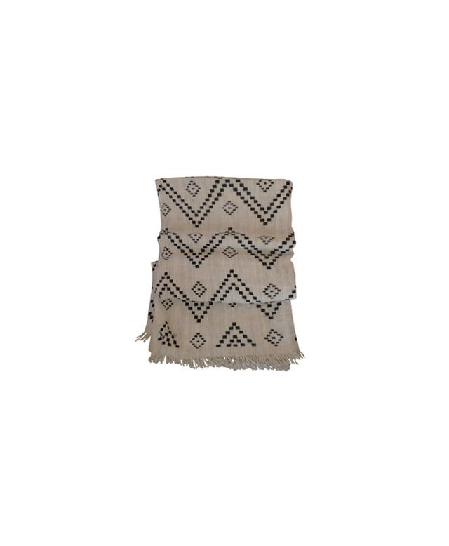 Hollywood at Home Zig Zag Indian Bedcover