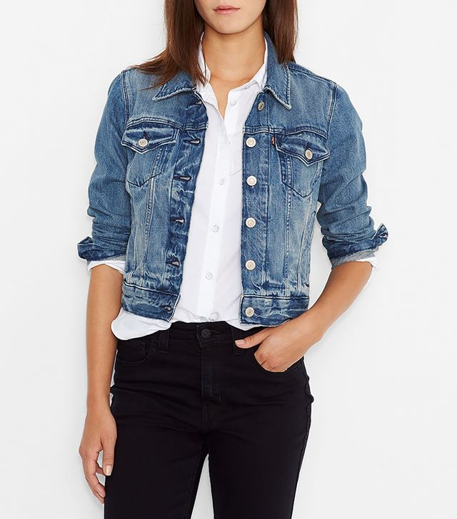 Levi's Authentic Trucker Jacket in Rosebud Blue