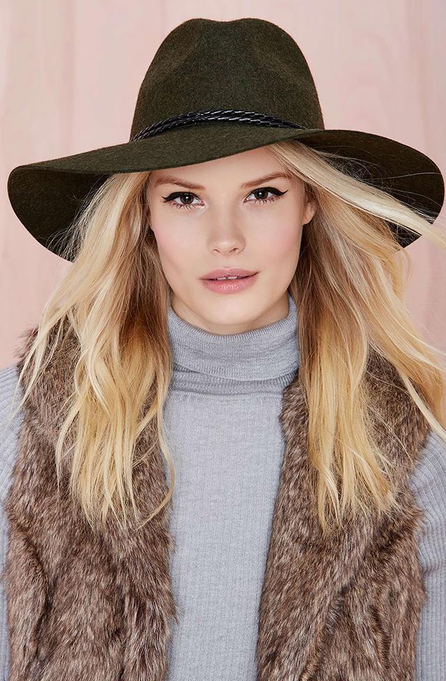 Nasty Gal Alexandra Panama Hat