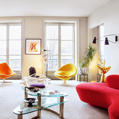 Shop the Room: A Colorful Midcentury Pad