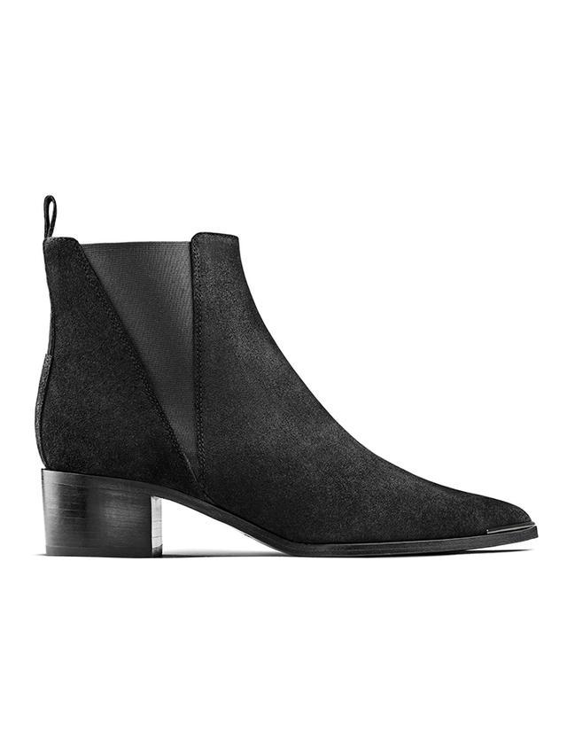 Acne Studios Jensen Suede Black Boots