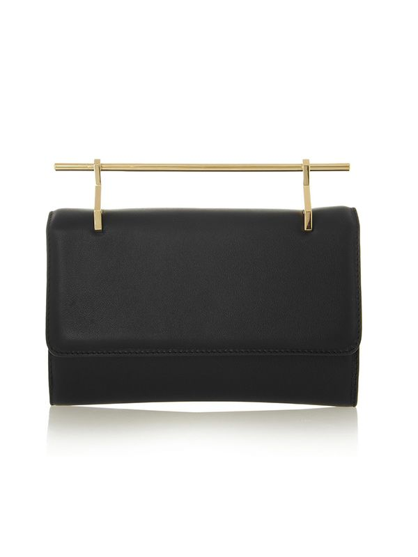 M2Malletier Fabrica Leather Clutch