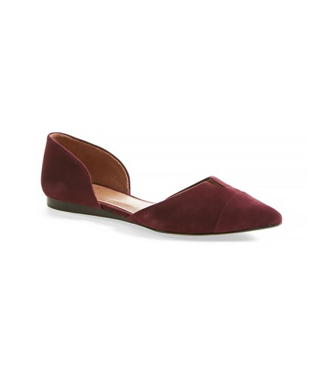 Vince Camuto Vince Camuto Halia D'Orsay Pointy Toe Flat
